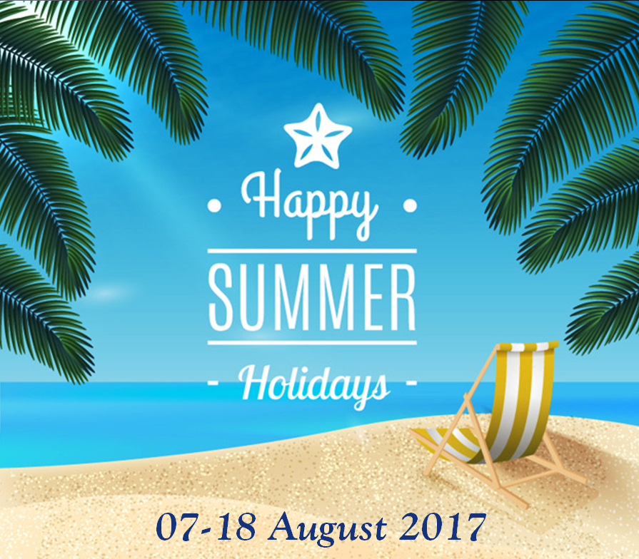 SARIV Summer Break