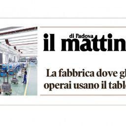 Sariv sul Mattino di Padova_Titolo 02