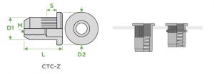 inserti-cilindrici-testa-cilindrica-corpo-zigrinato-sariv-sezione-impiego
