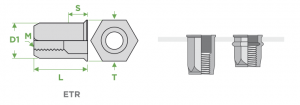 inserti-filettati-sariv-ETR-esagonali-testa-ridotta-sezione-impiego