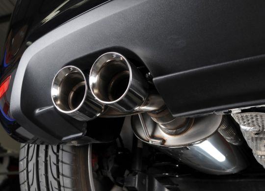 Blind rivets for exhausts